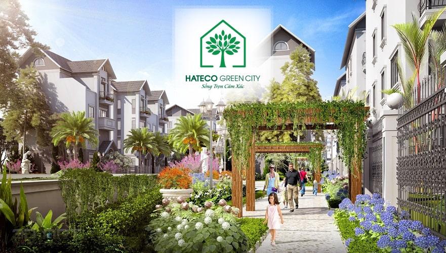 Không gian sống tràn ngập sắc xanh tại Hateco Green City