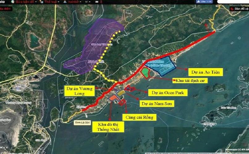 Các dự án đất nền tại Vân Đồn
