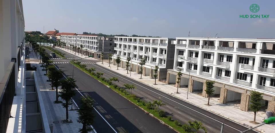 Tuyến phố mặt cắt 35m nối liền phố Quang Trung và Chùa Thông