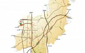 Vị trí khu đô thị Phúc Hưng Golden